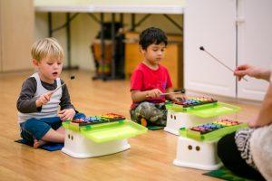 Preschool Music Students
