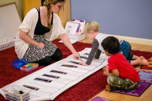 Myriad Music teacher with Interactive Musical Toys