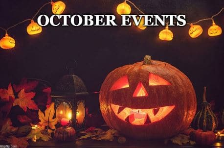 Three Fun Halloween Events in October!