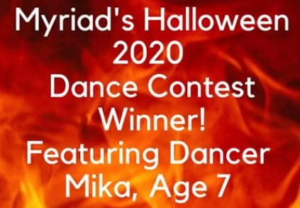 Halloween 2020 Shadow Dance Contest Winner!